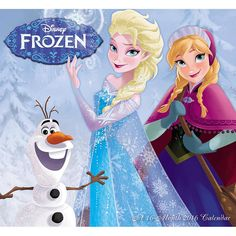 Disney Frozen 2016 Mini Wall Calendar | $7.99 | Celebrate the year with your favorite princesses Anna and Elsa from the hit movie Frozen! With the Disney Frozen Mini Wall Calendar, you can see your favorite characters all year long in a convenient mini wall format. This calendar is perfect for displaying in smaller or more crowded spaces, like lockers, above desks, or anywhere that could use a little bit of Frozen fun!