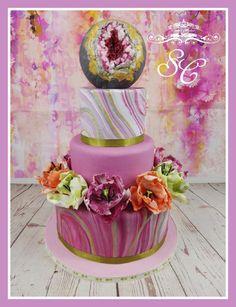 Geode meets Tulip by Sandy's Cakes - Torten mit Flair