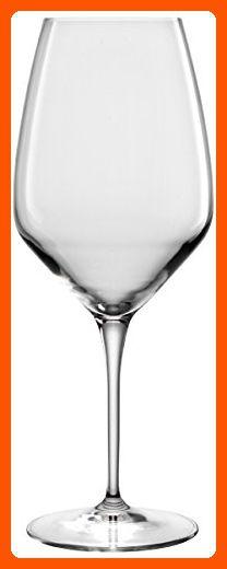 Luigi Bormioli Atelier Cabernet/Merlot Wine Glass, 23-3/4-Ounce, Set of 6 - Improve your home (*Amazon Partner-Link)