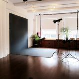 The Silk Studio offers the perfect space for photo productions and private functions. 1,000 SF.  $450 w/ equipment!