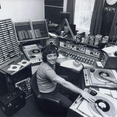 """Check out """"Tony Blackburn sits in for Jimmy Young - Monday April by on Mixcloud Music Flyer, Radio Flyer, Lps, Radios, Dj Sound, Bbc Radio 1, Old Time Radio, Dj Booth, Recorder Music"""