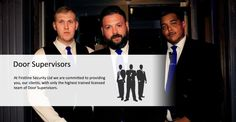 First line security is rich in experience in providing security in London. We cover from your domestic to commercial premises. We have a team of highly trained men and women whom are always ready to sacrifice their skills for the sake of your security.  We are known for providing Door Supervisor London, and we have always meet the expectations of our clients, due to the training and vigilance of our crew.  Visit Website: http://firstline-security.co.uk/door-supervisors/