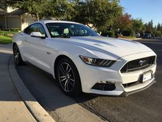 2016 Mustang GT Premium in Oxford White