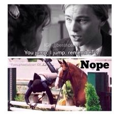 Equestrian Problems/Titanic. I laughed way too hard at this