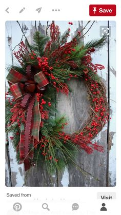 Awesome Ideas For Wreath Christmas Decoration