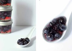 Pickled Blueberries | Honey and Birch #pickling