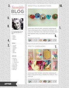 10 Blog Layout Tips.  Started reading, but was interrupted.  Need to finish reading.  7/13/13