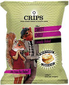 Single serve crisps packaging pillow bag design. #sachet #plastiques #plastic #bags #pillow #single #serve #emballage  #zip  #sacs#souple #packaging