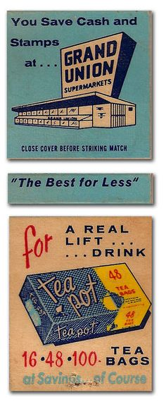 #Matchbook Grand Union To Design & order your business' # matches from GetMatches.com #phillumeny