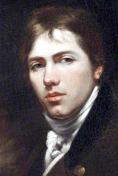"Humble Selfie! John Opie (16 May 1761–9 April 1807). Uber talented Cornish historical & portrait painter. Opie painted many notable men & women of the day including Mary Wollstonecraft, Samuel Johnson, Francesco Bartolozzi,Charles James Fox, Edmund Burke, Robert Southey, & Mary Shelley; 508 portraits in all, most in oil, and 252 other pictures. In 1805, Opie was elected a Professor at the Royal Academy. Rival James Northcote said of him: ""Other artists paint to live; Opie lives to paint."""