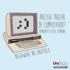 Criação. Post de Facebook. Cliente: UniÍtalo/Megaware.