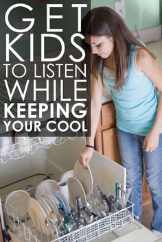 Getting Kids to Listen While Staying Calm