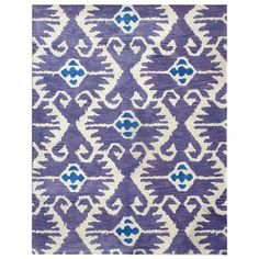 Safavieh Handmade Wyndham Lavender/ Ivory Wool Rug (4' x 6')   Overstock™ Shopping - Great Deals on Safavieh 3x5 - 4x6 Rugs