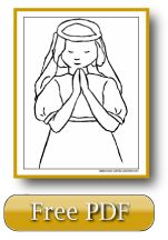 Catholic coloring page links