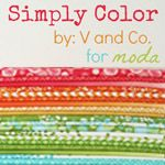 Simply Color by V and Co. at Marmalade Fabrics!