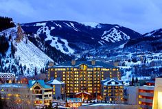 Vail resorts Aspen: looks like something you would only see in a movie! <3 would love to go here!