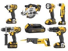 DeWalt's 20V Cordless Power Tools and Re-envisioned Hand Tools - Popular Mechanics