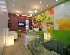Juice Bar design