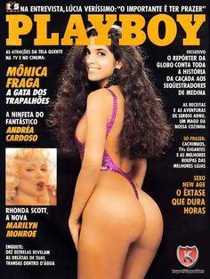 Mônica Fraga – Playboy Brésil Septembre 1990