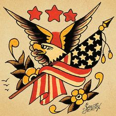 Sailor Jerry 98 by FAMILIAR STRANGERS Tattoo Studio - Singapore, via Flickr