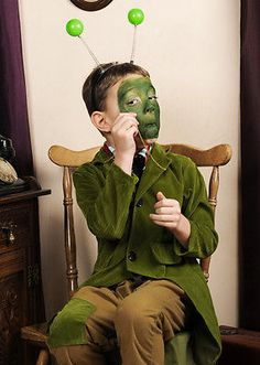 #James and the #giant peach style #grasshopper costume,  View more on the LINK: http://www.zeppy.io/product/gb/2/181995891639/