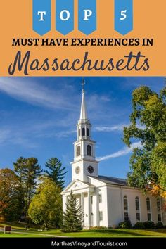 The best places to visit in Massachusetts include Gloucester, Salem, the Berkshires, Cape Cod, Martha's Vineyard and Nantucket. Things to do in Massachusetts include Boston travel, whale watching, road trips, cape cod vacations and fall foliage tours. There's such a variety of Massachusetts travel things to do, you are sure to find plenty of bucket list travel ideas that you will love in the Bay State. #Massachusetts #travel