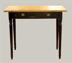 Ihana kirjoistuspöytä 90x50, tervaleppää, black wooden desk