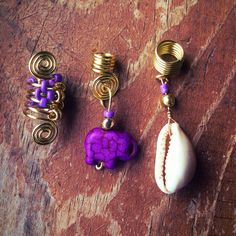 Hey, I found this really awesome Etsy listing at https://www.etsy.com/listing/180805641/loc-jewelry-3pc-gold-wire-purple