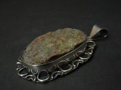 Chrysoprase pendant by JewellByMe on Etsy
