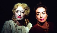 """Bette Davis and Joan Crawford in """"What Ever Happened to Baby Jane?"""" (1962)"""