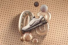 """""""Inspired by Japanese auto interiors, the Air Max 2003 brought a perforated upper and lowered Air-Sole unit. Nike Presents, Air Max Essential, Nike Motivation, Nike Wedges, Nike Quotes, Nike Runners, Air Max Day, Nike Design, Nike Windbreaker"""