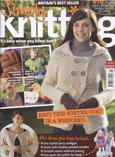 Ravelry: Simply Knitting 36, January 2008