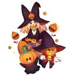 Love this little pumpkin but haven't got one to Evo 3 yet Monster Super League, League Gaming, Kawaii Anime, Bowser, Character Art, Anime Art, Pokemon, Fan Art, Manga