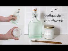 TOOTHPASTE & MOUTHWASH | Zero Waste Recipes - YouTube