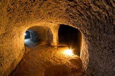 Kudy z nudy - Kaolinový důl v Nevřeni na Plzeňsku Catacombs, Czech Republic, Forts, Caves, Mineral, Cave, Blanket Forts, Minerals, Castles