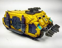 Imperial fist legion rhino. #wickedgamingstudios #imperialfist #Forgeworld #gamesworkshop #40k #warhammer