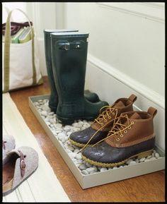 INSPIRÁCIÓK.HU Kreatív lakberendezési blog, dekoráció ötletek, lakberendező tanácsok: Előszoba ötlet: eső esetén