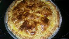 Découvrez la recette Tourte aux pommes de terre lardons et boursin sur cuisineactuelle.fr.
