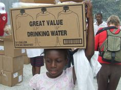 Happy World Water Day!    A photo from The Salvation Army's Haiti Relief efforts.