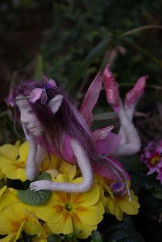 needle felted fairy - Maria Zasedko