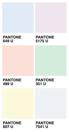 Pastel Colour Palette from Pantone - 5 Simple ways to beautify your bathroom decor! Your own home decor could be transformed in a few simple steps Pastel Paint Colors, Pastel Walls, Spring Color Palette, Pastel Colour Palette, Room Paint Colors, Colour Pallete, Bedroom Colors, Spring Colors, Pantone Colour Palettes