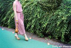 Jumpsuit culotte pants | La combinaison jupe-culotte Burda n°126 | Dolly en Alsace