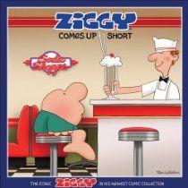 Ziggy Comes Up Short: The Iconic Ziggy in His Newest Comic Collection  by Tom II Wilson #GoComics #Ziggy