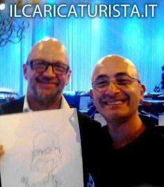 ilCaricaturista.it con il giornalista Rai Marco Mazzocchi