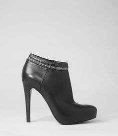 AllSaints Karis Tronchetto Boot   Womens Boots  I NEED THESE!!!