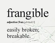Frangible