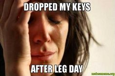 Images Gif, Funny Images, Funny Pictures, Leg Day Memes, First World Problems Meme, Life Problems, Lady Memes, Its Only Tuesday, New Funny Memes