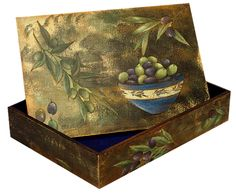 Decoupage box,,,,,with Greek subject  # by kvsartcreations    #worldofcrafters. www.worldofcrafters.gr Decoupage Box, Decorative Boxes, Greek, Objects, Gifts, Image, Presents, Favors, Greece