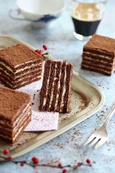 ~ MARLENKA ~ | Juditka konyhája | Bloglovin' Pastry Recipes, Cake Recipes, Dessert Recipes, Cooking Recipes, A Food, Food And Drink, Winter Food, Chocolate Desserts, Cupcake Cakes