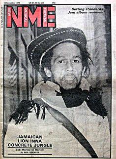 Bob Marley: NME (New Musical Express), Nov 1979
